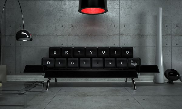 Kitschy-Qwerty-keyboard-sofa